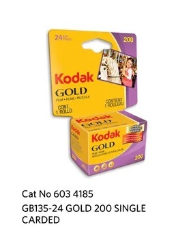 Kodak GOLD 200 GB 135-24 Carded